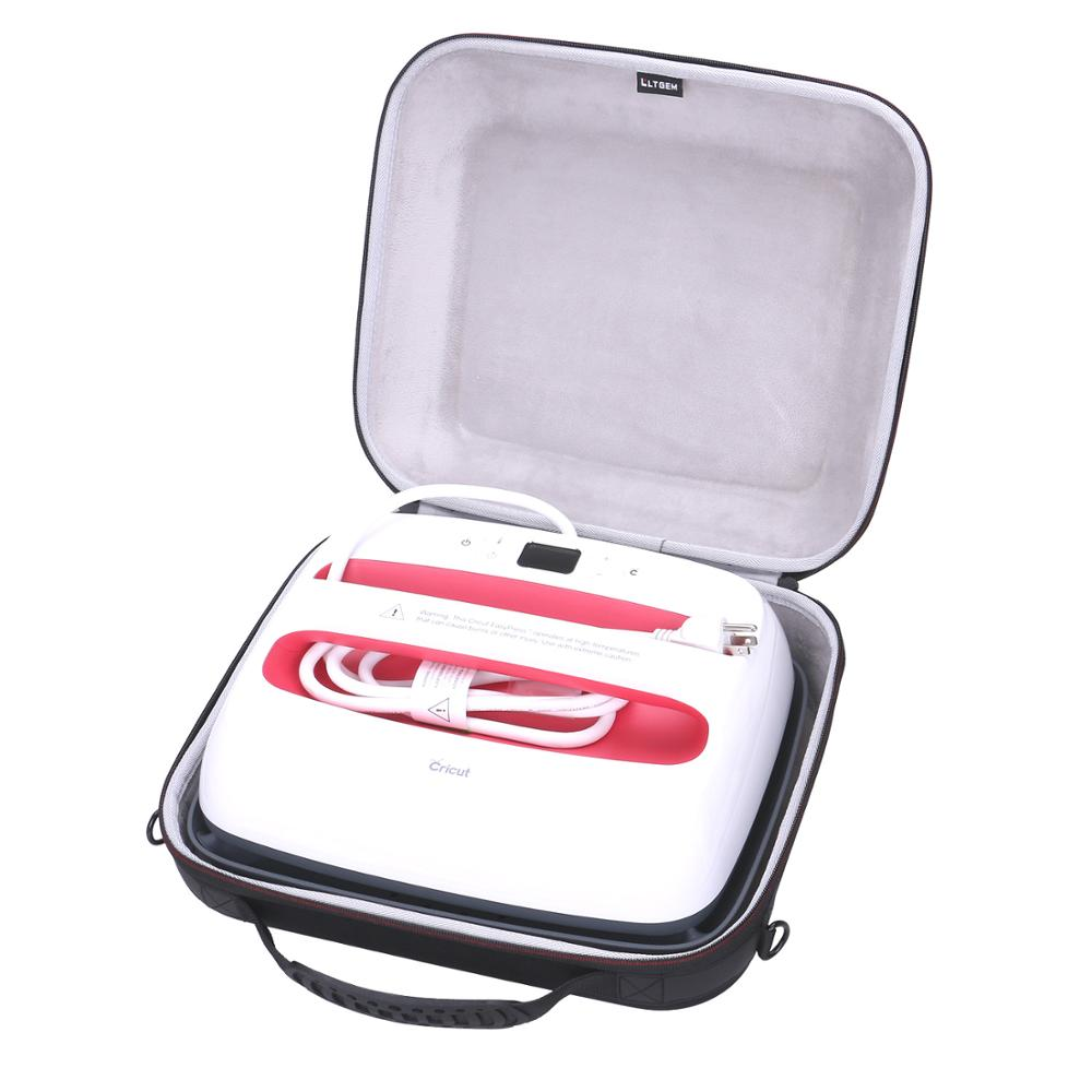 LTGEM EVA Hard Case Carrying Case For Cricut EasyPress 2 (12*10 Inches)