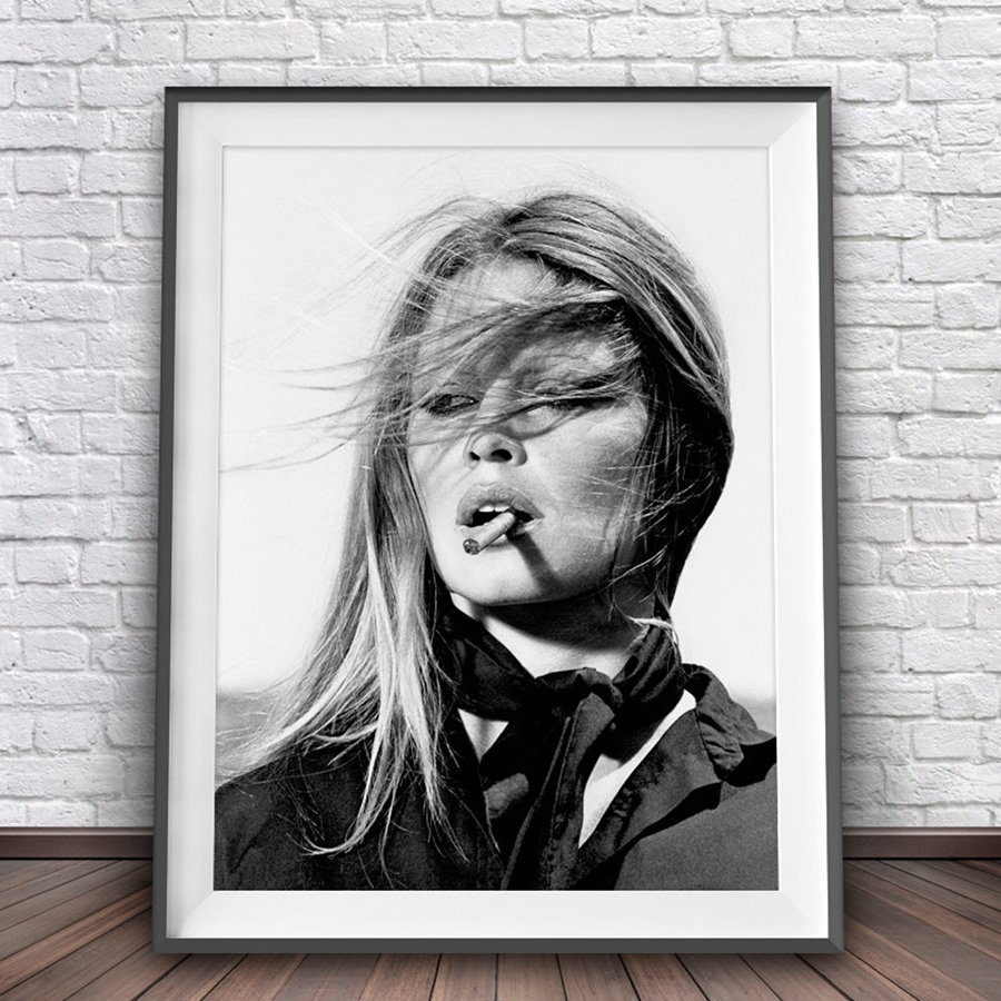 New Style Vogue Picture Nordic Canvas Fashion Wall Art Print Trendy Girl Poster Gallery Painting Print Decor Bedside Background in Painting Calligraphy from Home Garden
