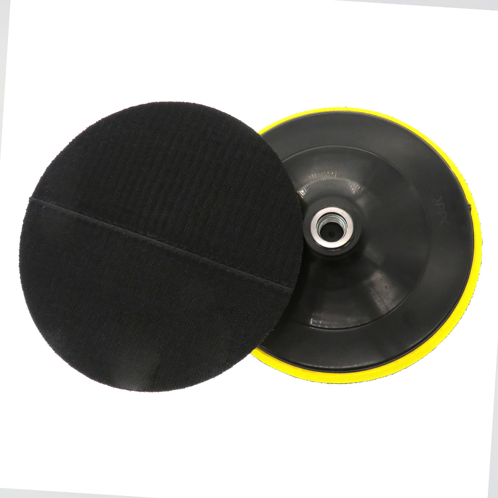 7 Inch Rotary Backing Pad Sanding Pad M14/M16 Thread Hook And Loop
