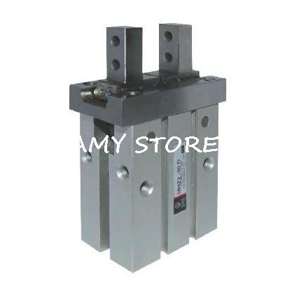 SMC type Pneumatic Parallel Gripper Single Acting Normally Open MHZ2-10S high quality single acting normally open mini gripper pneumatic finger cylinder mhz2 25s smc type aluminium air clamps