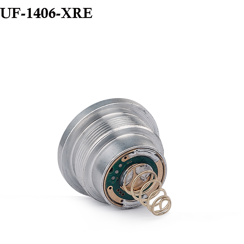 UniqueFire CREE XRE(Green/Red/White Light)Led Pill Hog And Coyote Hunting Light 3Mode Driver Lamp Holder