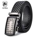 FIRE KIRIN Men Belt Automatic Buckle Designer Belts For Men Famous Luxury Brand Genuine Leather Belt Male Causal Cinturones B61