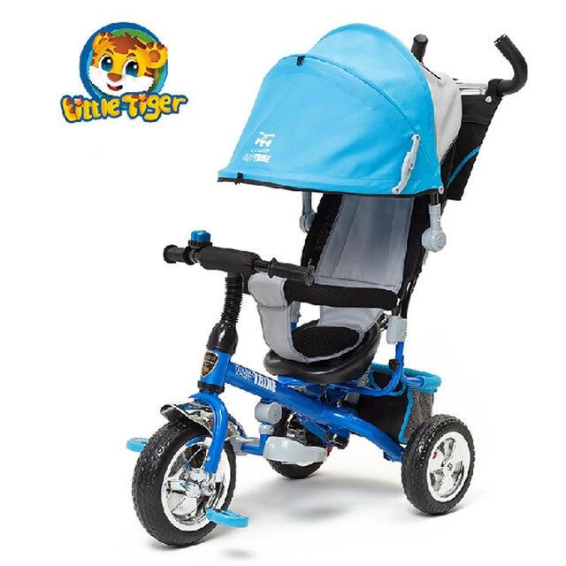 petit tricycle enfant chariot b b voiture buggiest b b v lo poussette de b b dans trois roues. Black Bedroom Furniture Sets. Home Design Ideas