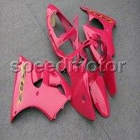 Пользовательские + винты литья под давлением розовый чехол ABS для Ninja ZX 6R 2000 2002 ZX6R 2000 2001 2002 мотоциклов обтекателя