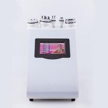 5 in 1 cavitation vacuum rf 40K hz Cavitation Slimming machine roller+tripolar rf+cavitation Machine