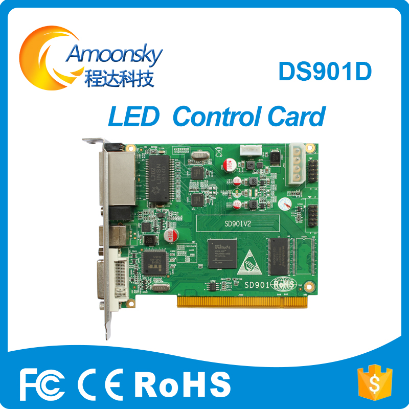 Full color led display Linsn DS901D led screen sending card Single & Dual color replace linsn DS802D DS802 DS801 DS801d OriginalFull color led display Linsn DS901D led screen sending card Single & Dual color replace linsn DS802D DS802 DS801 DS801d Original