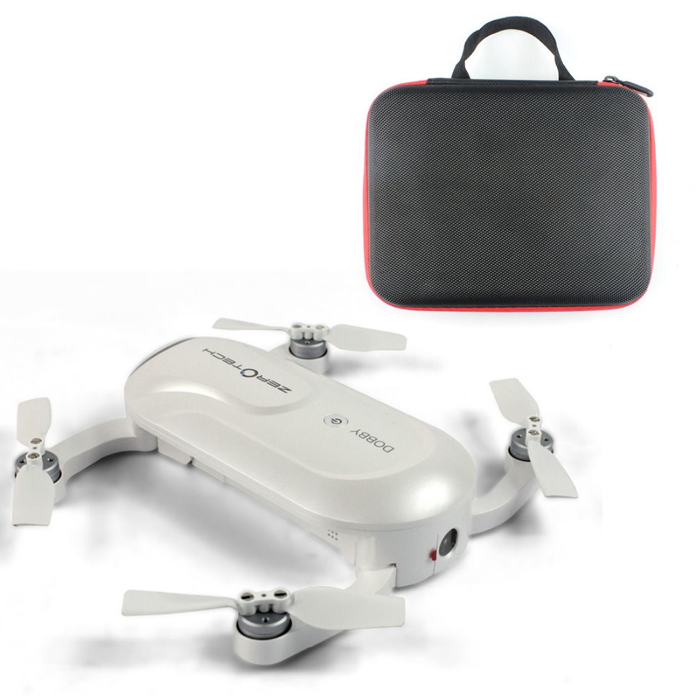 Newest ZEROTECH Dobby Pocketable Selfie Pocket Drone FPV With 4K HD Camera GPS Smart Solution RC Quadcopter APP Control F19092-A