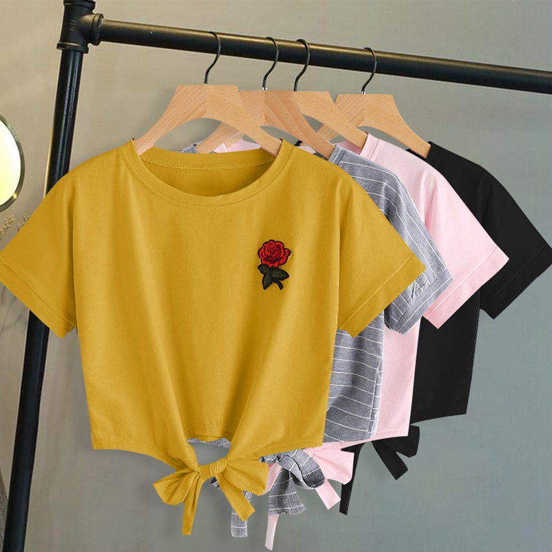 1a162864ec09 Buy tshirt rose and get free shipping on AliExpress.com