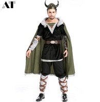 Halloween Male Warrior Costumes Greek Gladiator Clothes Gladiator Masquerade Warrior