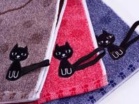 Hand towel and face 7Я, Black Cat, 25*50 cm