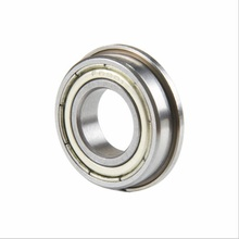 100pcs/lot F6902ZZ F6902 ZZ Z F6902Z Flange bearing 15x28x7 mm shielded flanged deep groove ball bearings 15*28*7 mm