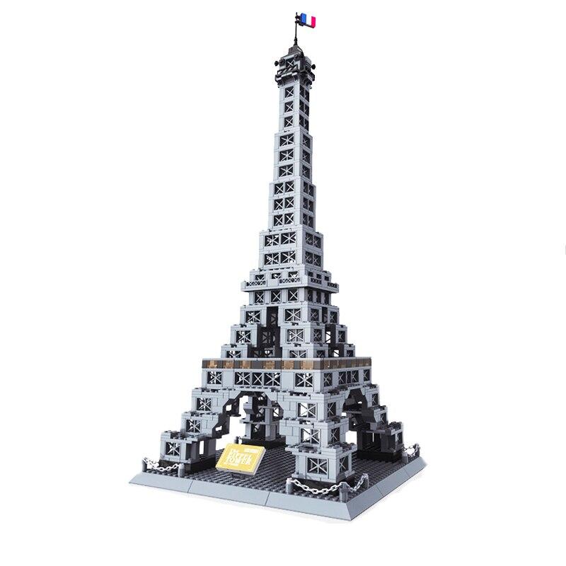 Wange 5217 France tour Eiffel Architecture blocs de construction modèle créatif pour enfants cadeaux créateur 10181