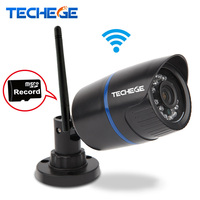 Techege WIFI IP Camera 720P Network Infrared Bullet Outdoor Waterproof IP66 3 6mm Lens Night Vision