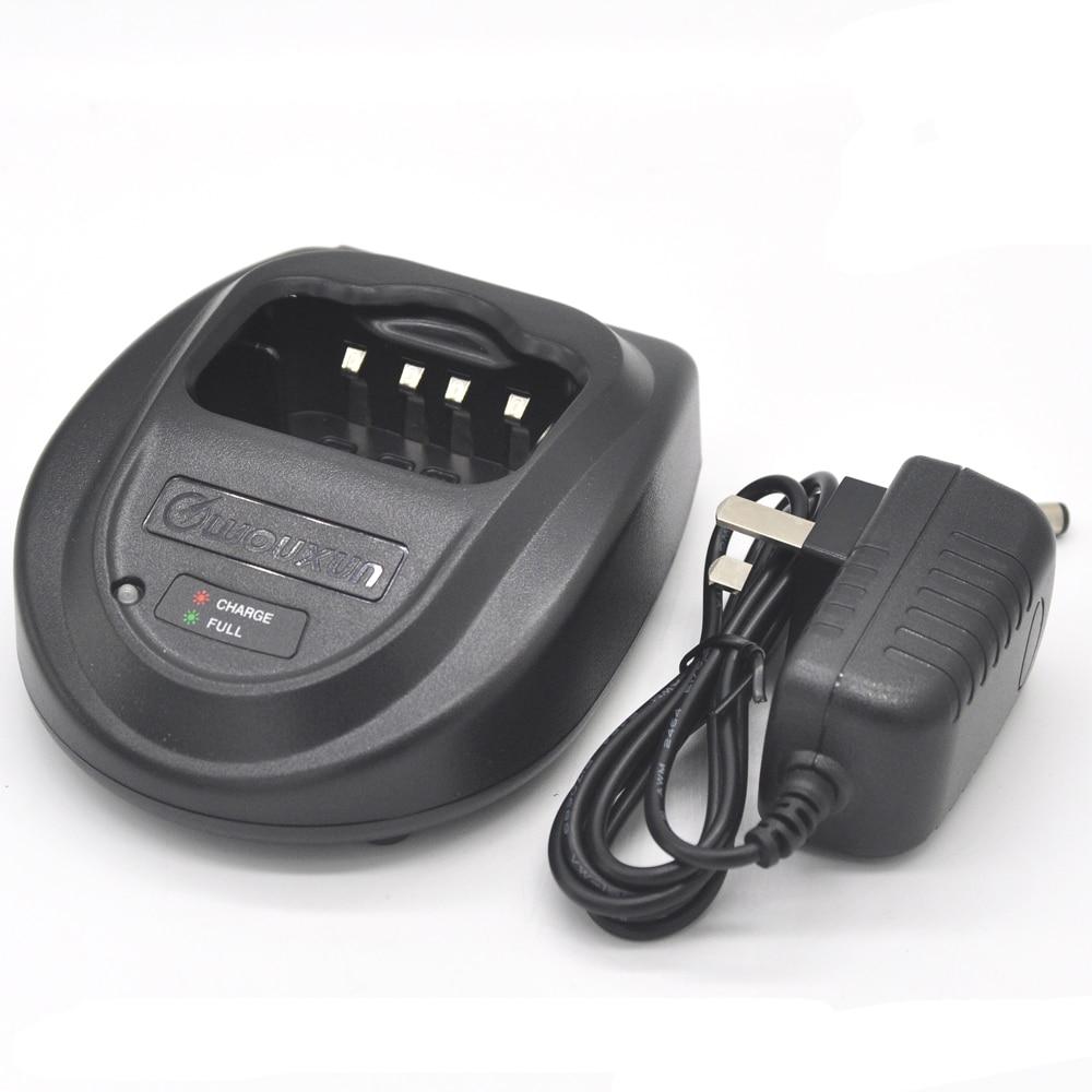 100V-240V Original Batteriladdare Adapter för Wouxun Radio Walkie Talkie KG-816 KG-818 KG-819 KG-869 KG-889 Tillbehör