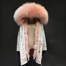 Hoge Kwaliteit Pink Raccoon Parka Koop Goedkope Pink Raccoon