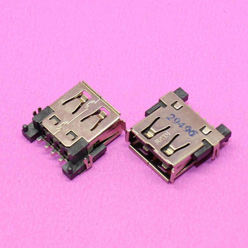 YuXi marka USB gniazdo żeńskie wspólne Notebook 2.0 gniazdo usb płyta główna laptopa gniazdo USB zlew planszowa dla Lenovo/ASUS/ acer...