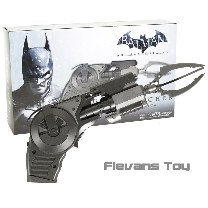 DC Batman Grappin Pistolet Prop Réplique Arkham Origines Grappin Crochet Lanceur Modèle Figure Jouet Cadeau