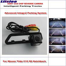 Автомобильная камера заднего вида для nissan tiida c12 5d хэтчбек