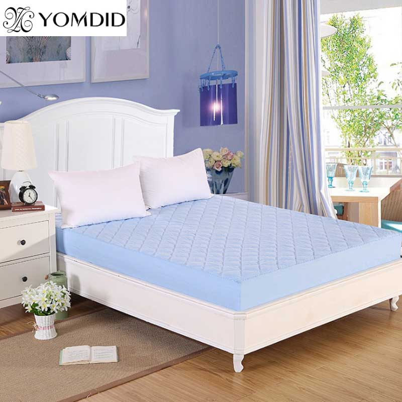 Mattress Pad Waterproof Matress Cover 6 Colors Offer Mattress Protector Proof Dust Mite Permeable Cover For Mattress Home Decor