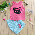 Costume for kids clothing sets minnie mickey bow vest pant sets girls clothes summer sleeveless costume children clothing