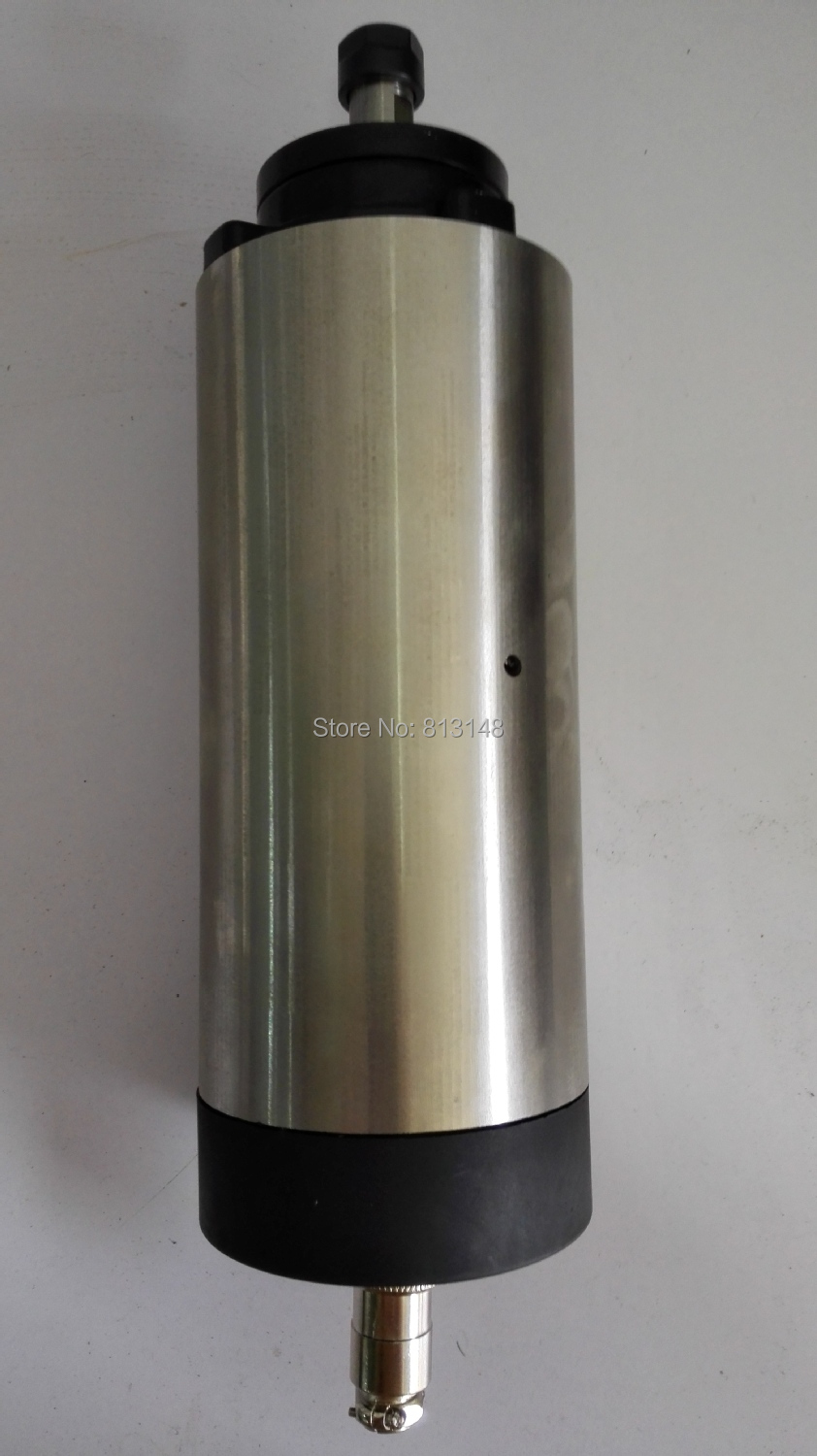 24000RPM diameter 80mm,ER16 1.5KW air cooling spindle motor 4 bearing for cnc router+whole set 10 pieces ER 16 COLLECT