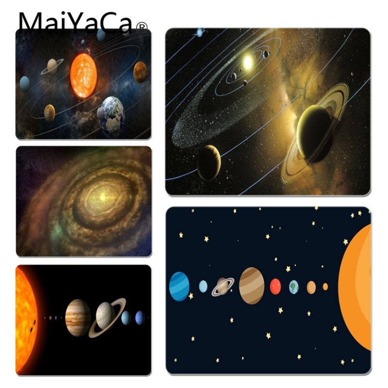 MaiYaCa Solar system Customized laptop Gaming mouse pad Size for 20X25cm and 25X29cm Gam ...