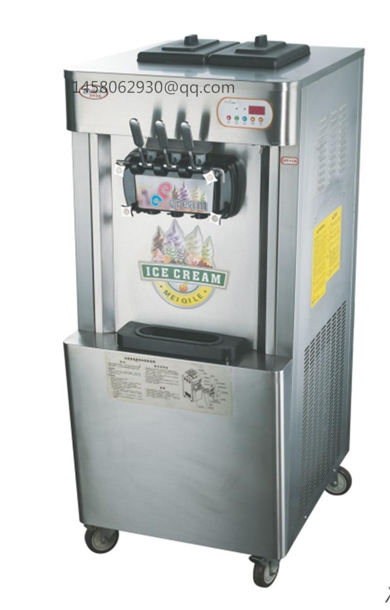 Soft Ice Cream Machine Frozen Yogurt Machine Italian Ice