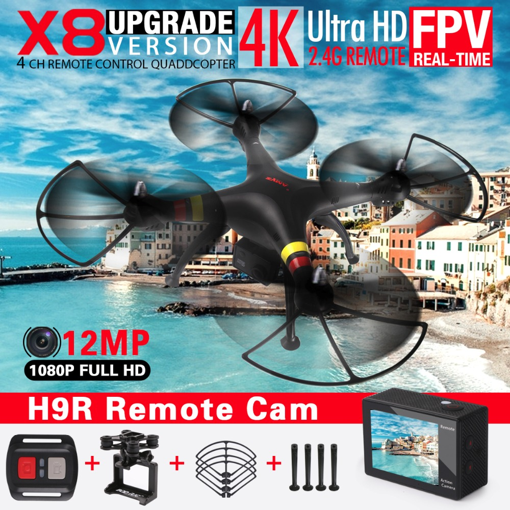 Syma X8HG X8HW X8HC FPV RC Drone avec 4 k/1080 p Wifi Caméra HD 2.4g 6 Axe hover RC Quadcopter Hélicoptère VS X8W X8S Drones