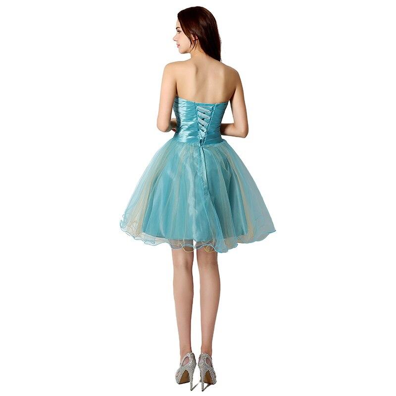 Tanie W magazynie Suknie Homecoming Crystal Sweetheart Sukienka - Suknie specjalne okazje - Zdjęcie 2