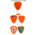 Pager sem fio Sistema de Chamada para o Restaurante Coaster Botão Assistir Convidado Hospital Enfermeira 433 MHz Garçom Restaurante Equipamentos F3306Q