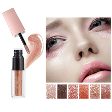 New Diamond Pearl Liquid Shining Shimmer Glitter Eye shadow Pencil Pen Waterproof Eyeshadow Cosmetics