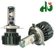 TURBO T6 CSP LED H1 H4 H7 H11 9005 9006 H3 HB3 HB4 880 60 Вт 8000lm СВЕТОДИОДНЫЕ Фары Автомобиля Лампа Противотуманных фар 6000 К 12 В 24 В