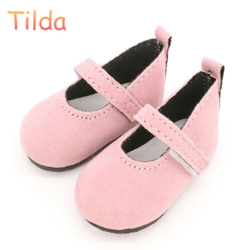 Tilda 6cm Mini Shoes For Paola Reina Doll,Fashion Mini Toy Shoes for Corolle 1/4 Bjd Doll Footwear Shoes for Dolls Accessories canvas shoes for paola reina doll fashion mini toy gym shoes for tilda 1 3 bjd doll footwear sports shoes for dolls accessories