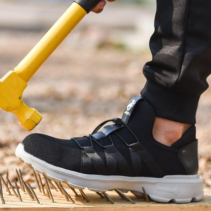 Chaussures de sécurité en acier embouts de protection anti-crevaison chaussures de travail bottes de sécurité chaussures