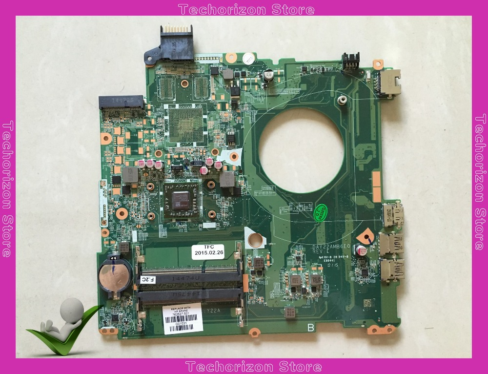 762527-001 for HP Pavilion 15-P 15-p032cy laptop motherboard DAY22AMB6E0 Laptop Motherboard 762527-501 tested working original 762531 501 for hp pavilion 15 p series laptop motherboard day22amb6e0 rev e a8 6410 2g 100