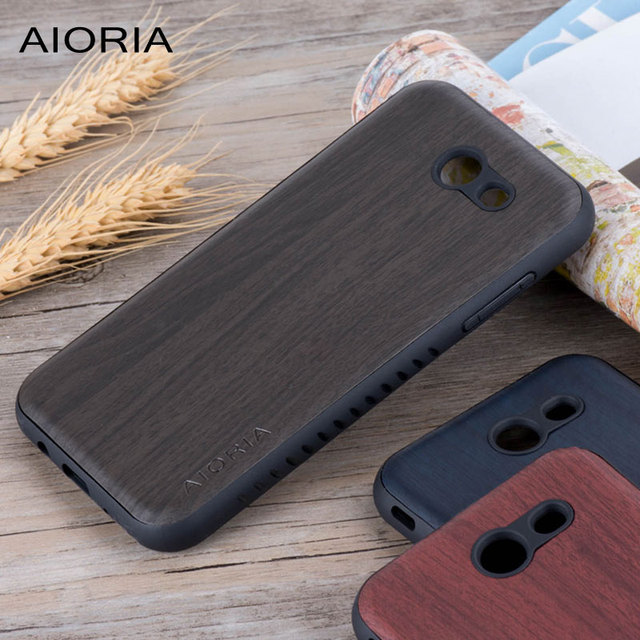 finest selection 7ce9f 9589e US $3.15 21% OFF|Wooden design case for Samsung Galaxy J3 Emerge J327 coque  covers for Galaxy J3 Eclipse J327 J3 Prime Galaxy Express Prime 2 -in ...