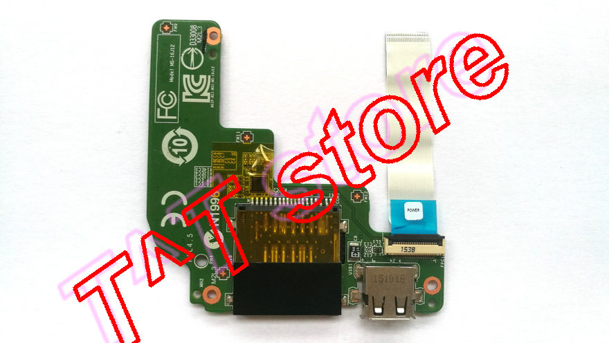 original for GE62 GE62-2QF GE62-6QF GE72 GE72-6QF power botton USB Card Reader BOARD with cable MS-16J12 test good free shipping new cover case for msi ge72 2qd apache pro ms 1792 series lcd back cover black lcd bezel cover not applicable ge72 2qf