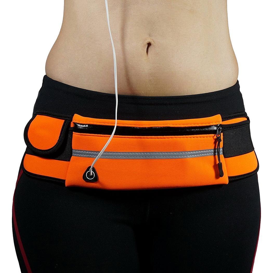 2019 NEW Waist Pack Women Running Waterproof Waist Bag Mobile Phone Holder Men Gym Fitness Travel Pouch Belt Pink Chest Bags