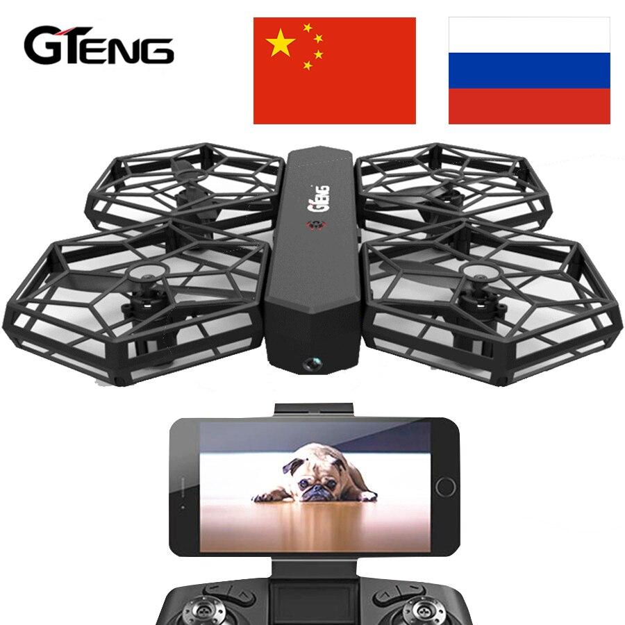 Gteng DIY Drone Quadcopter RC Hubschrauber Quadrocopter Fernbedienung Spielzeug Eders Aircraft FPV Mit Kamera Quad Copter Droni