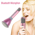 K068 Wireless Microphone Mini Karaoke Player with Mic Bluetooth Speaker KTV Singing Record for Android IOS Smart Phone Computer
