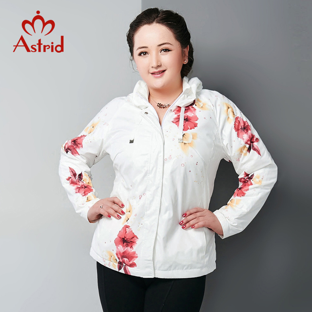Astrid New 2016 Winter Winmen Coat for Women Large Size Long Coat Spring Coat Plus Size AM-2529 Clearance Sale