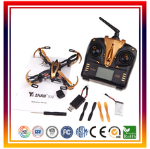 Dwi Dowellin Yizhan X4 Golden RC Drone Quadcopter UFO 3D Flying Remote Control Helicopter RC Quadrocopter with 2.4G Transmitter