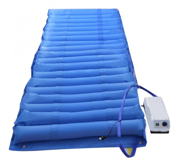 New Arrival Blue Color Air Mattress Alternating Pressure Pump Pad Medical Bed Overlay Hospital Fit for patient new arrival 12v 4800pa ac car electric air pump for camping airbed boat toy inflator