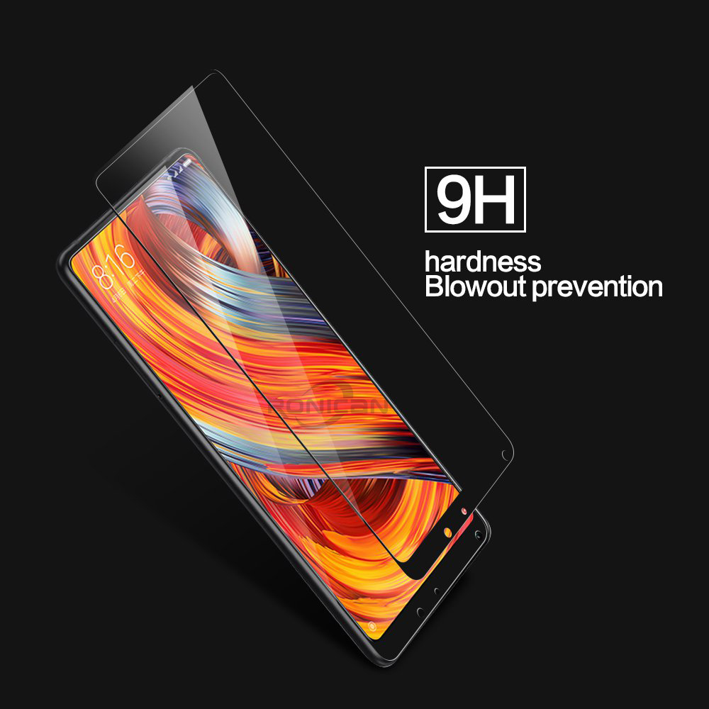 """Image 3 - Xiaomi Mi Mix 2 Glass Full Cover Tempered Glass For Xiaomi Mi Mix 2S 5.99"""" Screen Protector for Xiomi Mix 2s Protective Glass-in Phone Screen Protectors from Cellphones & Telecommunications"""