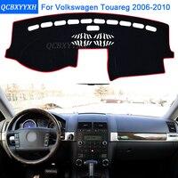 Car Styling Dashboard Protective Mat Shade Cushion Photophobism Pad Interior Carpet For VW Touareg 2006 2010