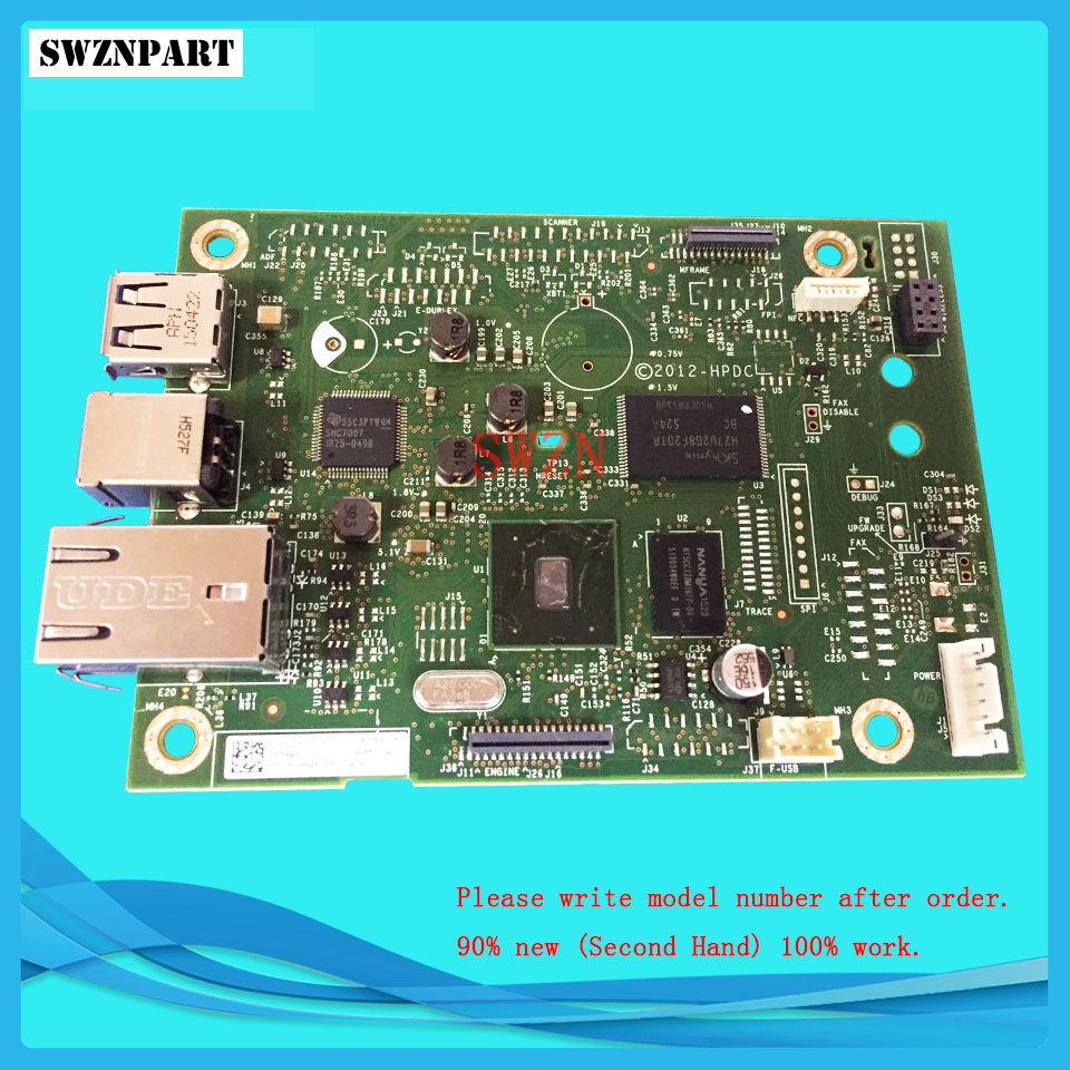 FORMATTER PCA ASSY Formatter Board logic Main Board MainBoard mother board for HP M452 M452dn M452dw M452nw M452n CF394-60001 ce670 60001 formatter board for hp p1102w 1102w formatter pca assy logic main board mainboard mother board
