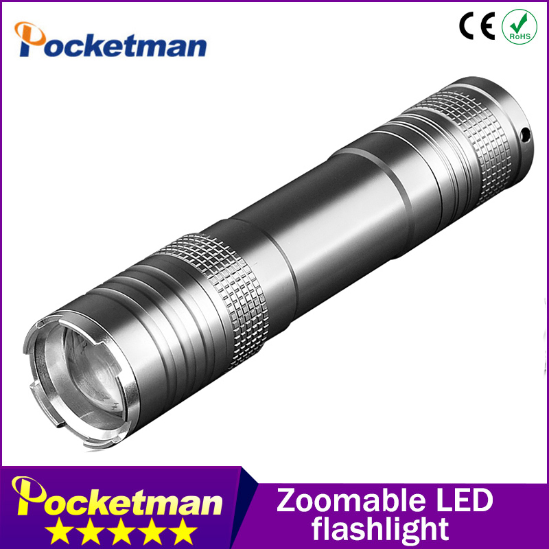 Led Torch 2000lm Cree LED Flashlight Torch light Waterproof For 1x18650