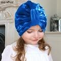 Bohemian Winter Cap For Kids Lovely Mixed Cotton Warm Hats Outwear Fashion Retro Style Beanie Cap Bonnet Enfant#B106