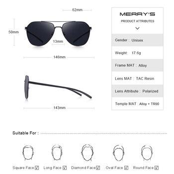 MERRYS Classic Pilot Sunglasses  3