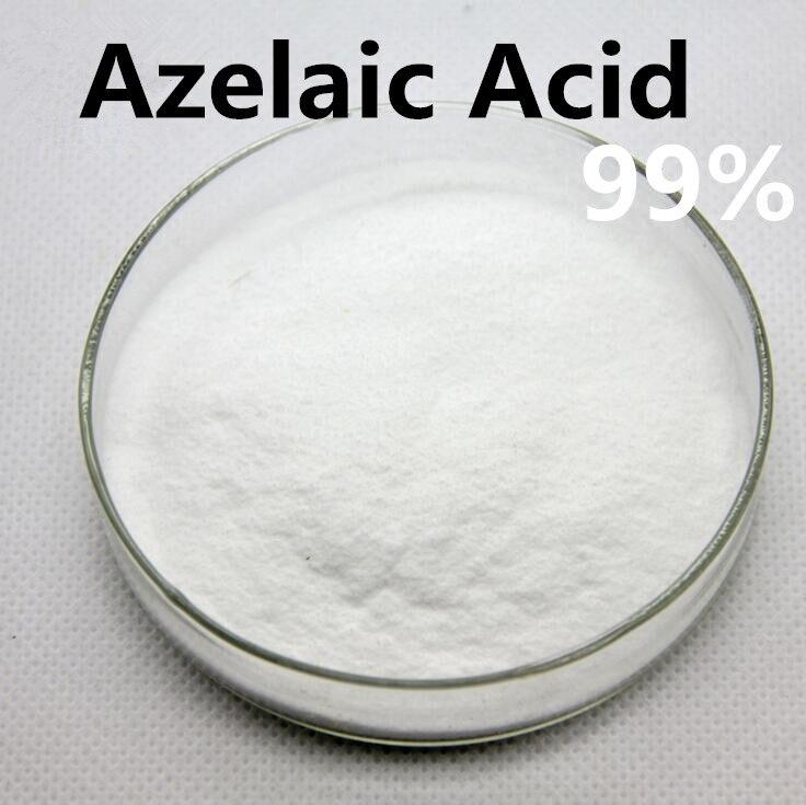 99% Azelaic Acid Cosmetics Skin Care Ingrediant Acid Spices Beauty Salon 50grams